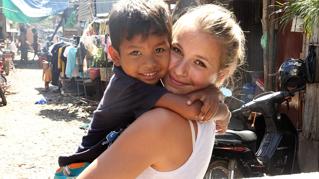 Dans les bidonvilles de Phnom Penh