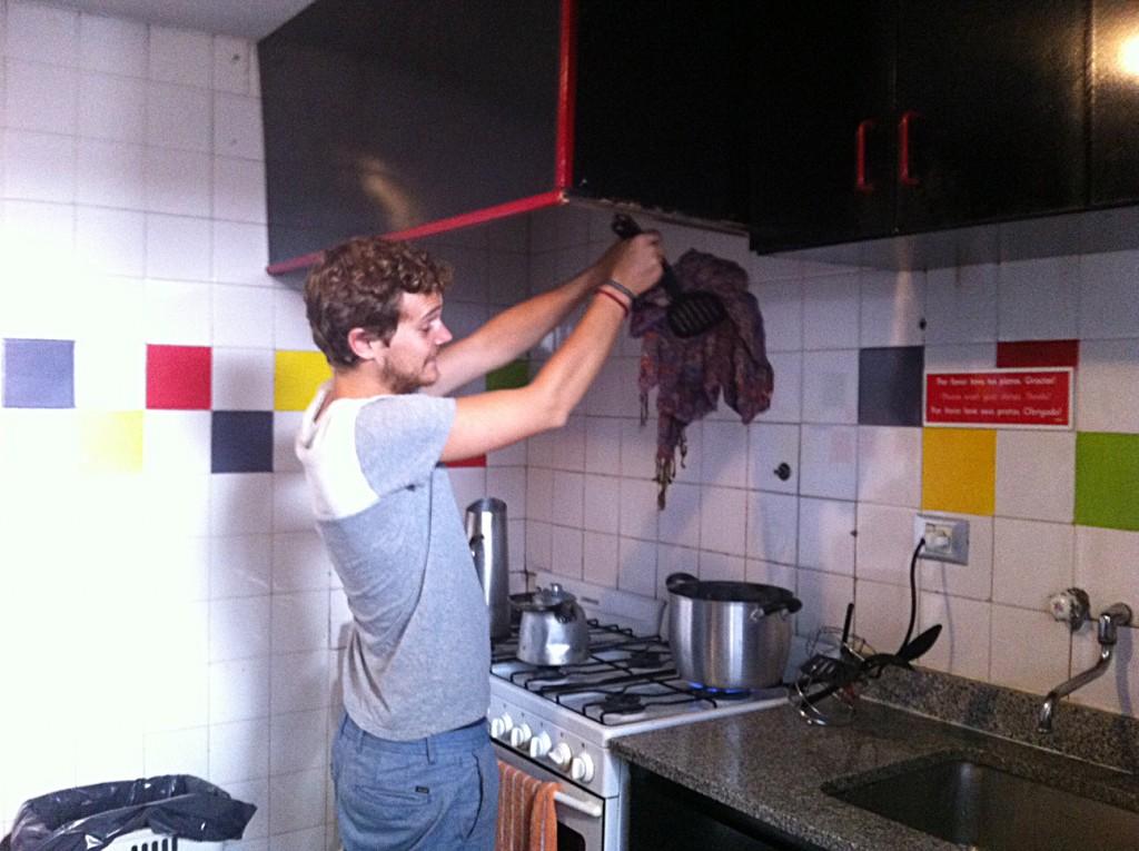 Activité du jour : faire bouillir ses vêtements