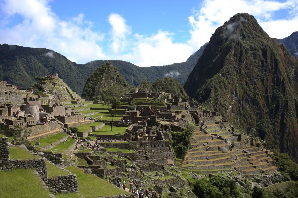La cité légendaire du Machu Picchu
