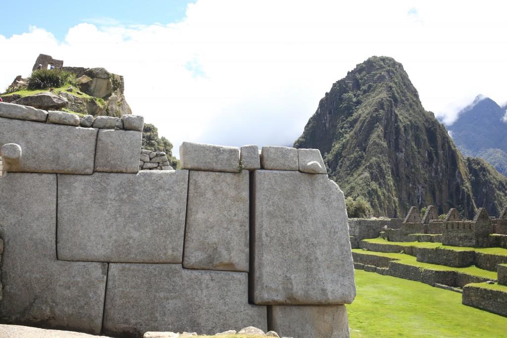 Les temples sont construits sans mortier