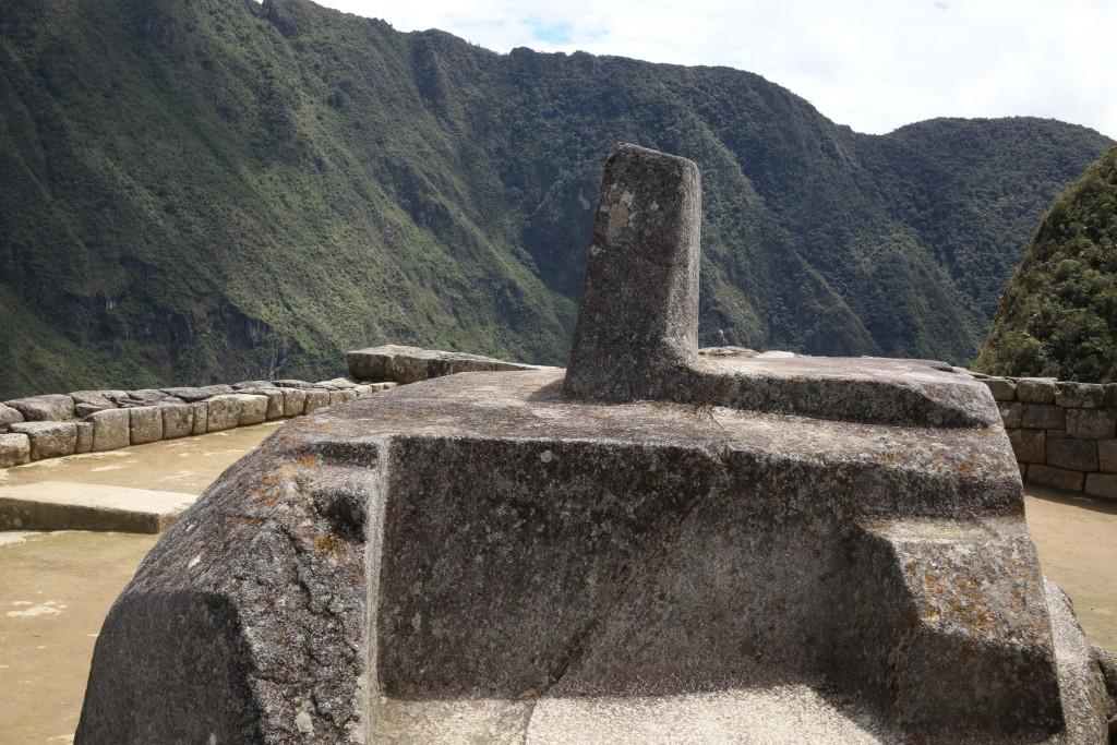 Au Machu Picchu, une horloge solaire