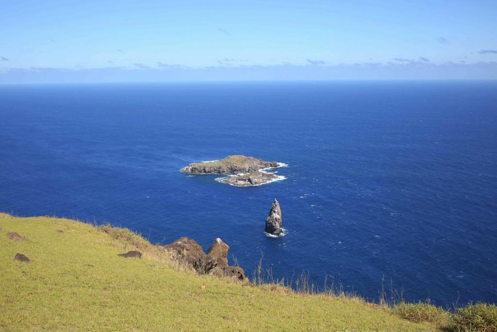 L'îlot Motu tu, à quelques dizaines de mètres de Rapa Nui